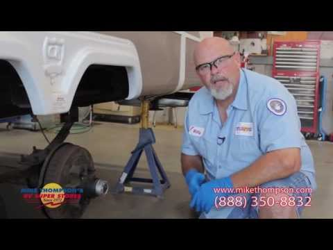 How to Pack a RV Wheel Bearing by Mike Thompson's RV Super Stores
