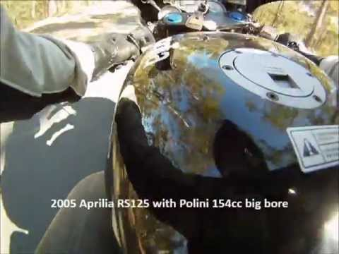 Aprilia RS125 Engine Seize Polini 154cc BANG BANG