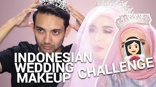 Indonesian wedding makeup challenge ft Intan Kaharuddin