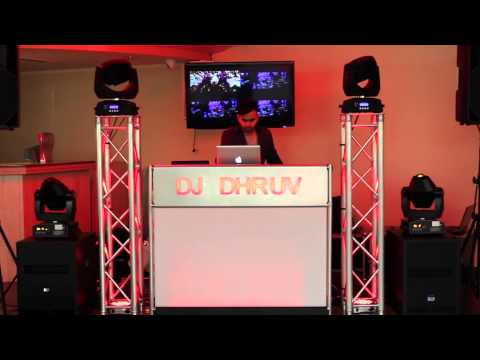 City pavilion Romford - DJ DHRUV - manhattan suite Mobile dj Setup Wedding