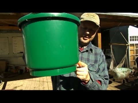 How to make a heated chicken waterer
