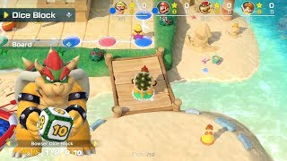 Super Mario Party Megafruit Paradise #13 Bowser vs Mario vs Wario vs Daisy