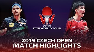 Timo Boll vs Lee Sangsu | 2019 ITTF Czech Open Highlights (1/4)