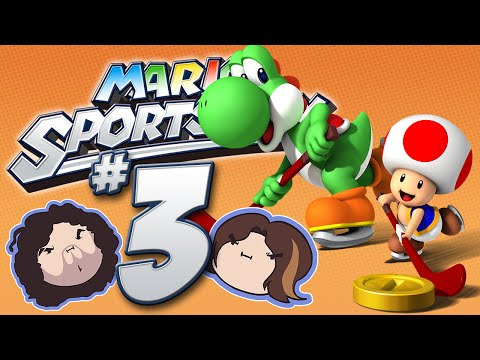 Mario Sports Mix: Hockey! - PART 3 - Game Grumps VS
