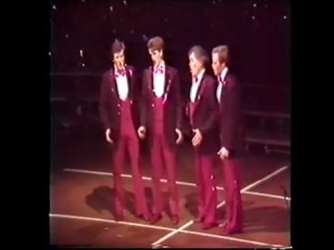 Channel 4 - 4th @ 1984 Quartet Semi Final UK British Barbershop Quartet