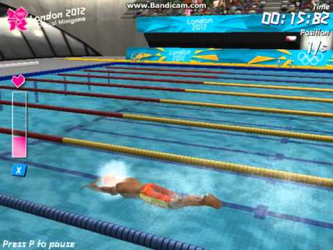 Miniclip London 2012 Olympic Games World Record - Swimming