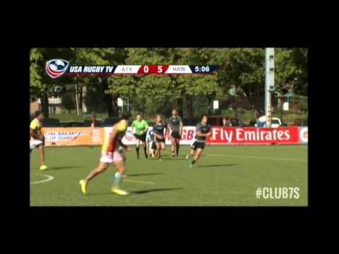 2014 Club 7s - Austin Blacks vs. Hawai'i Titans