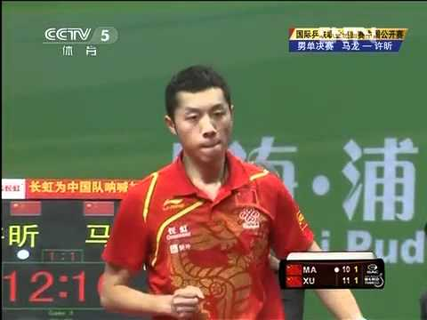 2012 China Open (ms-f) MA Long - XU Xin [Full Match/Chinese]