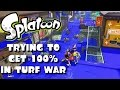 SPLATOON TRYING TO GET 100 IN TURF WAR mp3