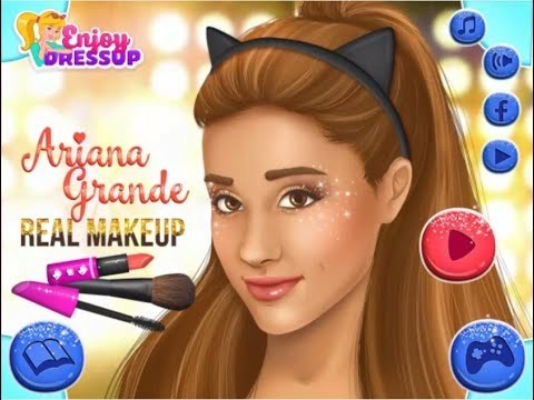 ⭐⭐⭐Celebrity Fashion Games - Ariana Grande Real Makeup - Games For Girls ⭐⭐⭐