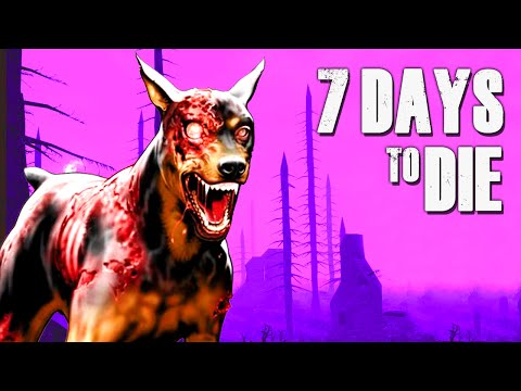 DOOMSDAY DOGS ★ 7 Days to Die (4) - Zombie Games