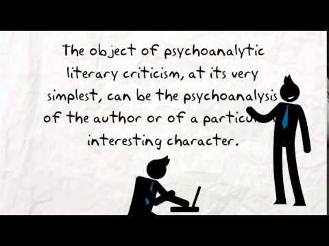 psychoanalytic literary criticism essay
