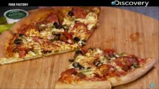 How to make pizza !! Food Factory  Hindi !! Pizza Making machine Online