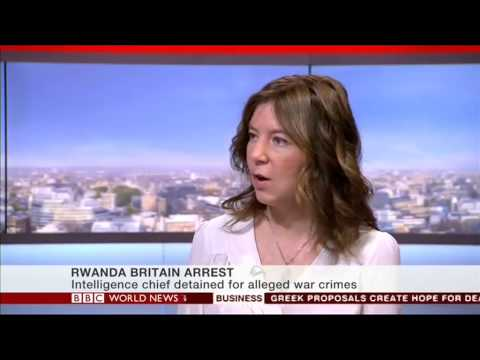 Rwanda's intelligence chief arrested at Heathrow Airport in London