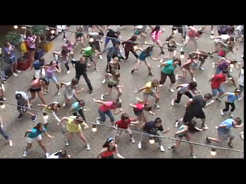 Hairspray Flash Dance Mob