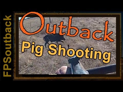 Outback Pig Shooting (hog hunting)
