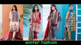 How to New Collection For Latest Desing Mahrani Embriodered Winter Dress For Girls # 2018