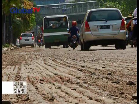 Aspal Diperbaiki, Hati-Hati Melintasi Jalanan Di Jakarta Pusat - BIS 20/11