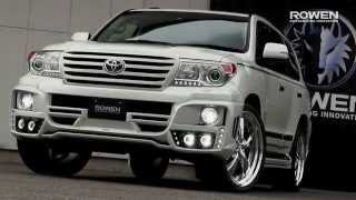 TOYOTA New LAND CRUISER 200 BodyKit&ExhaustSystem by Rowen Japan.