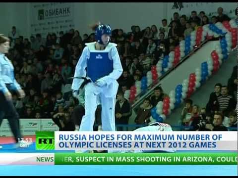 Young taekwondo talents to fight for Russia at 2012 London Olympics