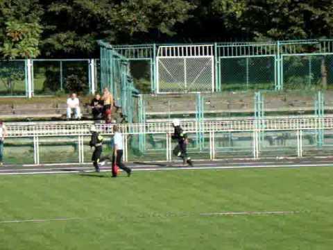 OSP Zwiernik na Powiatowych Zawodach Sportowo - Pożarniczych 2009 w Dębicy.