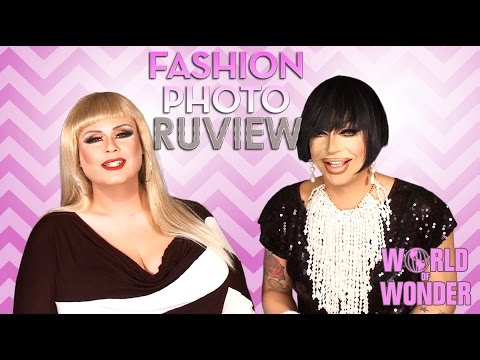 RuPaul's Drag Race Fashion Photo RuView w/ Raven & Delta Work – Social Media Episode 31