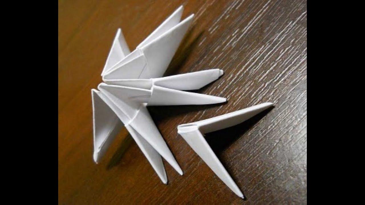 Как сделать лебедь из бумаги своими руками поэтапно фото