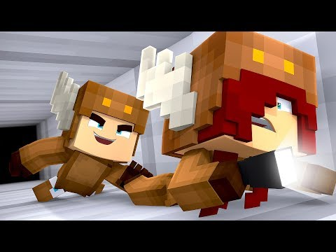 Minecraft Daycare - BABY ESCAPES SCHOOL! w/ MooseCraft (Minecraft Kids Roleplay)