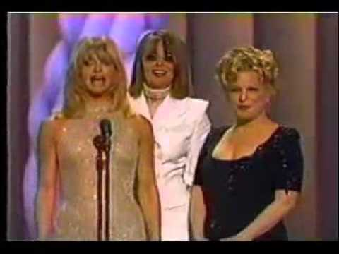 1997 Academy Awards - Bette Midler, Goldie Hawn and Diane Keaton Presenting Best Original Song