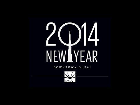 Burj Khalifa Downtown Dubai New Year's Celebrations 2014 #BeThere