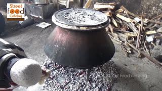 Indian HINDU Marriage VEG BIRYANI Prepared 500 People - Cooking in Veg Biryani - Street Food Catalog