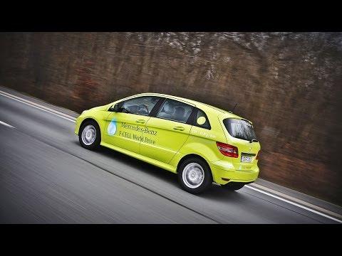 Обзор Mercedes-Benz B-Class F-Cell (водородные топливные элементы), часть 1