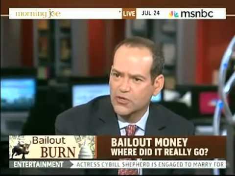 Barofsky: Geithner Said Housing Policies Were