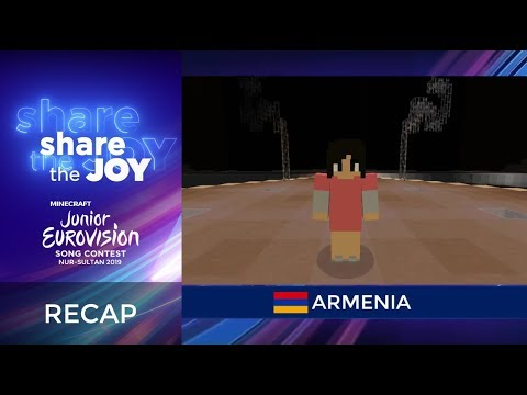 Minecraft Junior Eurovision Song Contest 2019 - Recap