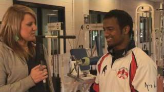 Sailen Tudu  - Young Indian Rugby International - talks about how he came to the UK