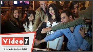 بالفيديو.. وعد البحرى تحتفل بعيد ميلادها برفقة زوجها وابنها