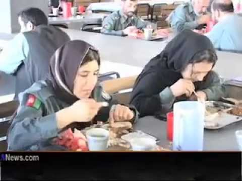Afghan Women Police Force