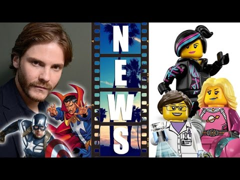 Daniel Bruhl joins Captain America 3 Civil War, Lego Movie 2 female characters! - Beyond The Trailer