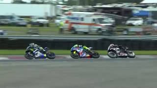 MotoAmerica Superbike New Jersey Motorsports Park Race 1 Highlights