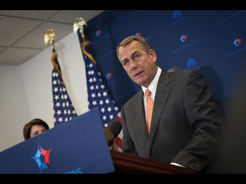 Boehner Talks Manufacturing, Keystone Jobs