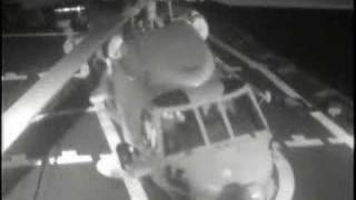 HSL Helicopter Roll Accident Over at Sea
