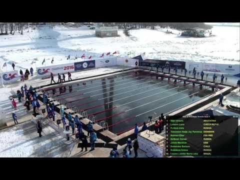 12.03.2016 Чемпионат мира по зимнему плаванию в Тюмени | Russia Winter Swimming World Championships