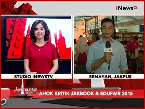 Live Report: Jakbook Fair 2015 Di Kawasan Parkir Timur Senayan - Jakarta Today 28/07