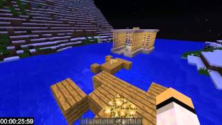 "Minecraft: Speedrun - ""Speed Parkour"" by MinecraftCzechu & Majk Jonek"