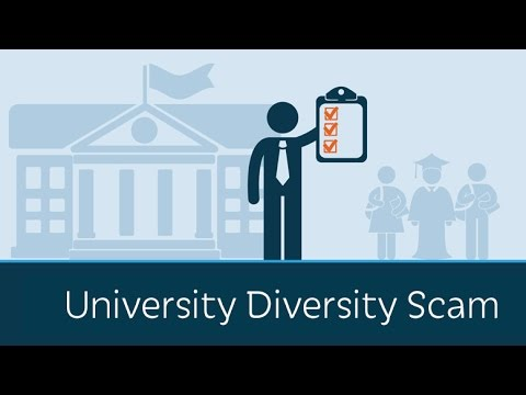 What Is The University Diversity Scam? video