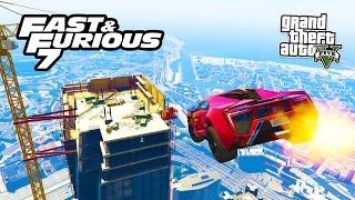 GTA 5 PC Mods - FURIOUS 7 CARS MOD & BUILDING JUMP! GTA 5 FAST & FURIOUS Mod! (GTA 5 Mods Gameplay)