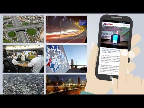Nueva aplicación móvil de Autopista Central