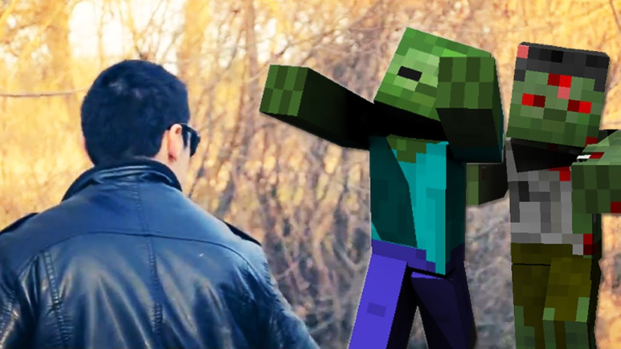 Minecraft Zombies in Real Life