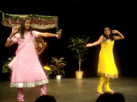 Telugu Dance By Soumya and Harisha OKC