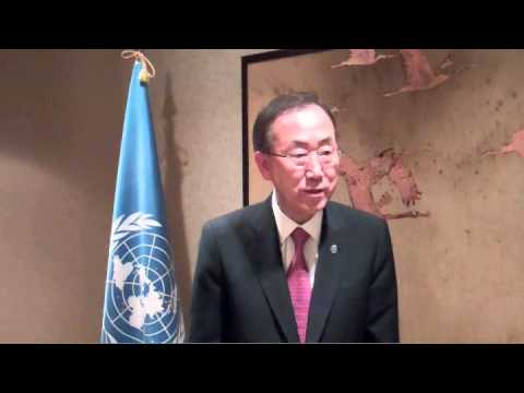 SYRIA: UN CHEMICAL WEAPONS INSPECTORS ATTACKED by SNIPERS: S-G BAN KI-MOON